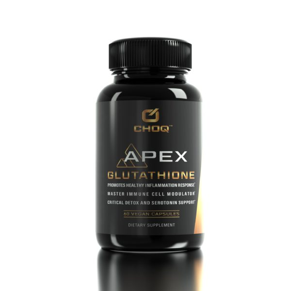 CHOQ Apex Glutathione Bottle