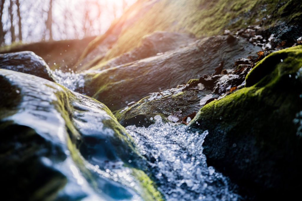 Natural Springs Contain Surfactants