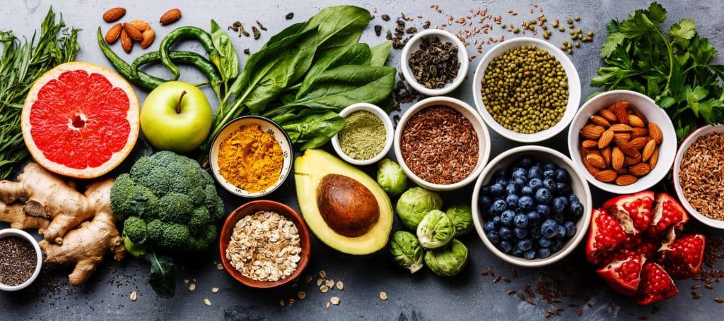 healthy fresh food, enzymes