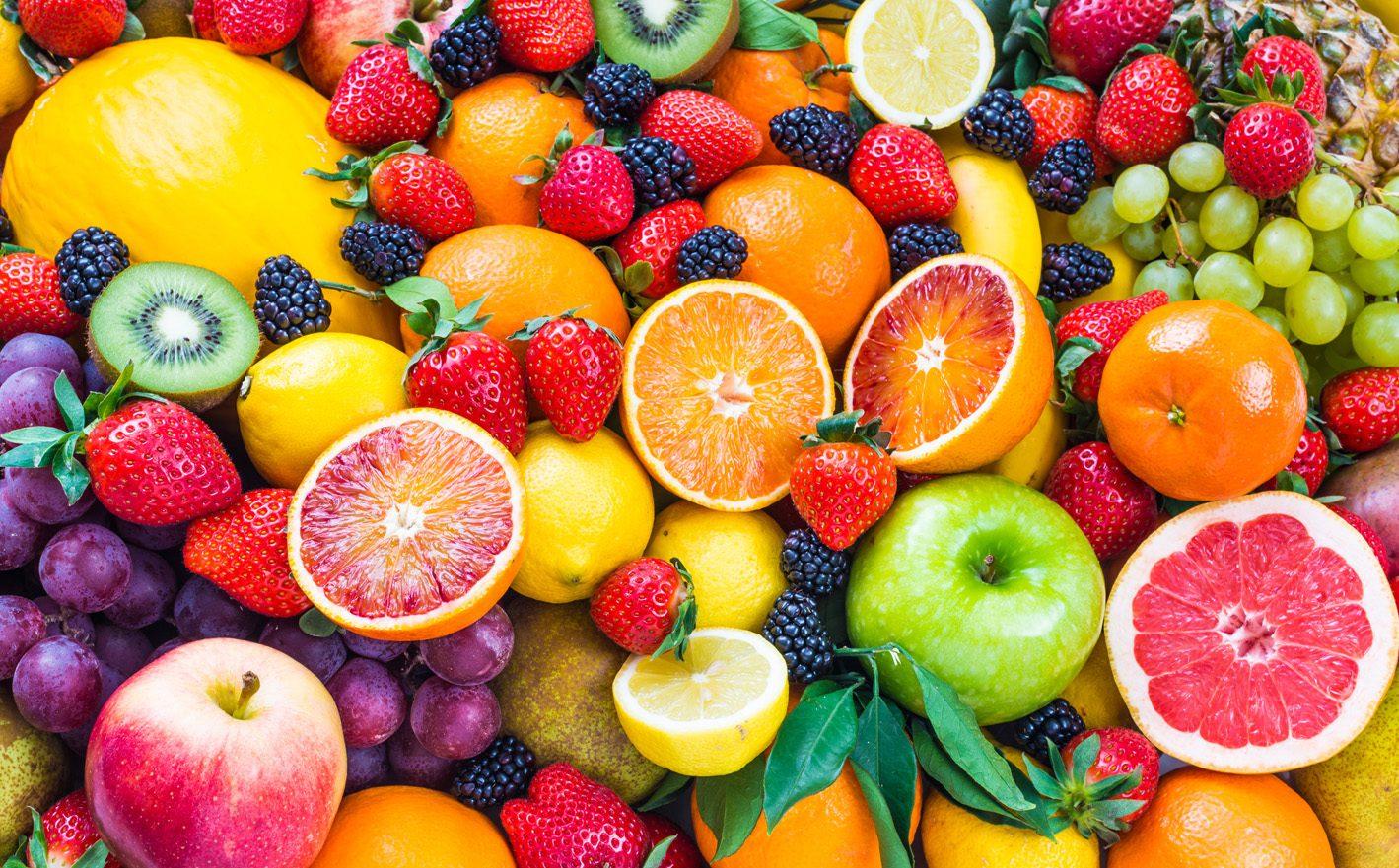 tasty juicy alliesthetic fruits